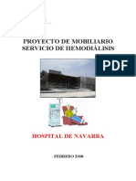 Proyecto mobiliario Hemodiálisis