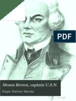 Captain Moses Brown, USN 1904
