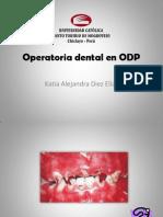 Operatoria Dental en ODP