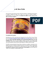 La Moradita de Inca Kola