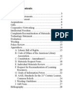 watkins cdp table of contents