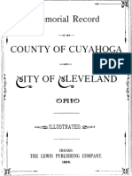 Memorial Record Cuyahoga County and City of Cleveland Ohio 1894