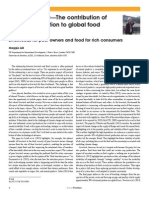 From the editor—The contribution of  animal production to global food  security
