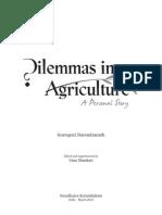 Dilemmas in Agriculture - Gorrepati Narendranath