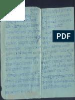 Dinanath Yaksha Letters in Skt to Swamiji