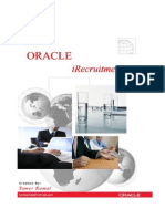 Oracle IRecruitment Setup v 1.1
