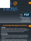 Knowledge Management @ INFY