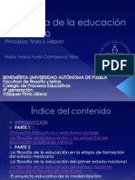 la filosofa de la educacin en mxico