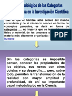 1 CATEGORIAS  DIALECTICA
