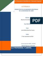 Código Ético del Ingeniero Industrial de la Universidad del SABES