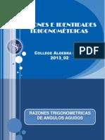 1.-Razones Trigonometricas