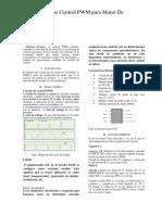 Informe Control PWM Para Motor Dc