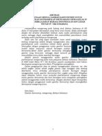 Penelitian Bahasa Indonesia