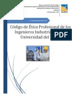 Código de Ética Profesional de Los Ingenieros Industriales de La Universidad Del Sabes