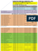 Degree Final Examinations Timetable Updated 24102014