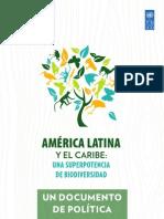 América Latina y El Caribe Una Superpotencia de Biodiversidad. Un Documento de Política (PNUD, 2010)