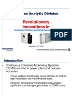 Innovations in Cems
