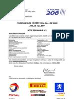 206 XS Volant 2006 info no1