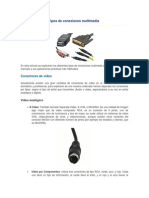 Tipos de Conexiones Multimedia