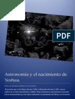Astronomía y el nacimiento de Yeshua.