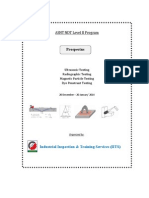 Prospectus for ASNT NDT Level-II in Bangladesh.pdf