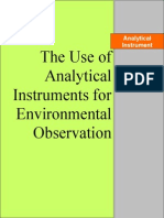 The Use of Analytical Instruments for Environmental Observation