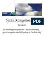 2273 Spectral Decomp