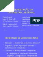 Interpretação de Gasimetria Arterial