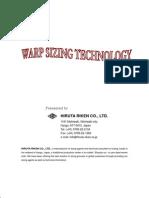 WARP SIZING TECHNOLOGY