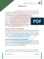 Internship Report of PEPSI COLA MULTAN