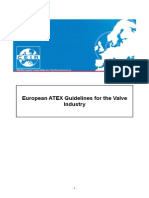 ATEX Guideline for Valve Industry