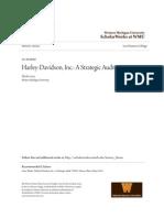 Harley-Davidson Inc.- A Strategic Audit