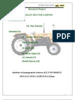 Internship Ghazi Tractor