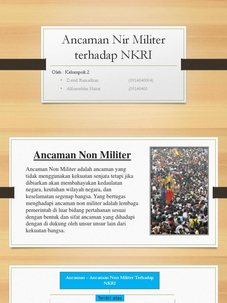 Ancaman Nir Militer Terhadap Nkri