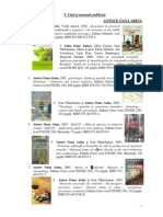 Arina - Carti Publicate Si Brevete
