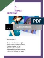 Monografía sobre el embarazo precoz y el Sida