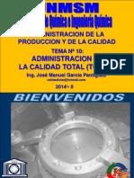 2013 II-Administracion de La Produccion y Calidad - Clase 10 - II