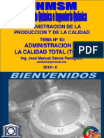 APC - SESION 10 - CALIDAD TOTAL II