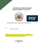 Implementacion Del Sistema de Compresion Para La Planta San Alberto