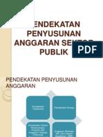 PENDEKATAN PENYUSUNAN ANGGARAN (ASP pertemuan 5).pptx