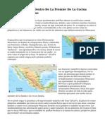 La Comida Ocupa Dentro De La Premier De La Cocina Mexicana De Destino