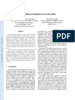 Adaptive Multicore Scheduling for the LTE Uplink