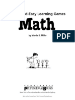 Quick and Easy Math Games