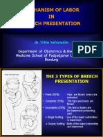 Mechanism of Labor in Breech Presentation