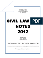 CIVIL LAW BAR NOTES 2012.doc