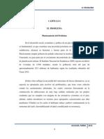 Análisis de los deslizamientos y desprendimientos de suelo en la zona sur de Barquisimeto.