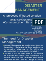 Disaster Management-it Project