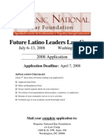 Future Latino Leaders Law Camp