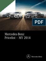 Mercedes Benz GCC Price List