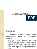 Seepage Analysis
